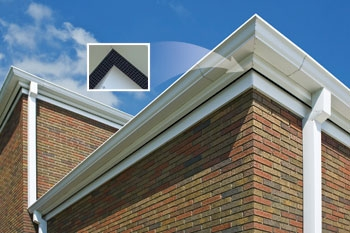 Church roof overhang