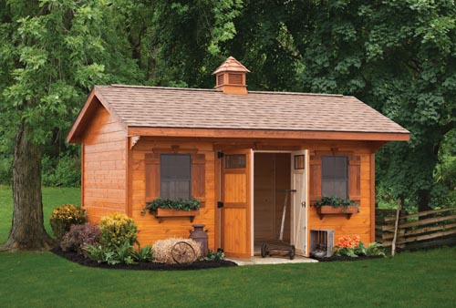 Weaver Barns high end shed