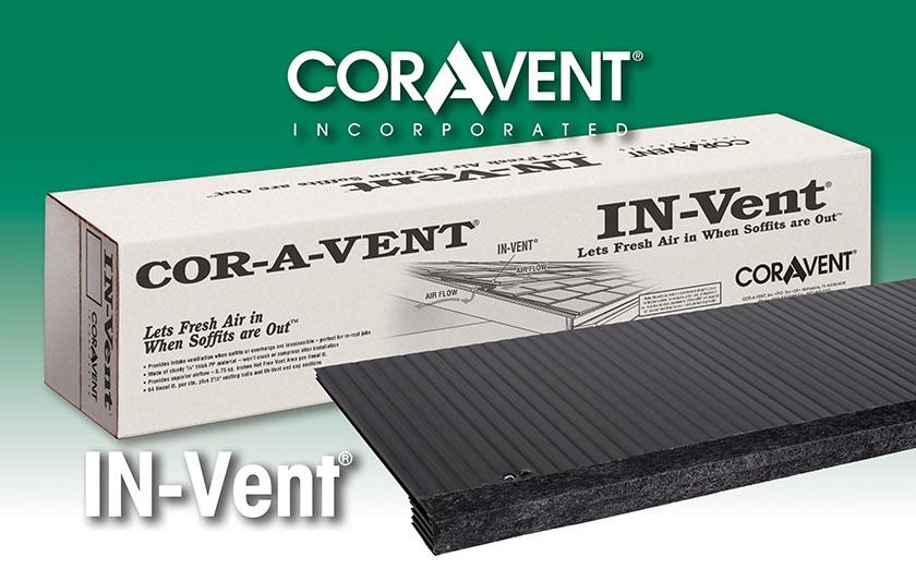 Cor-A-Vent IN-Vent Attic Roof Vent