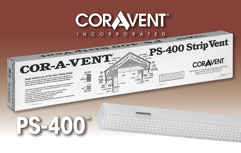 Cor-A-Vent PS-400 Strip Vent