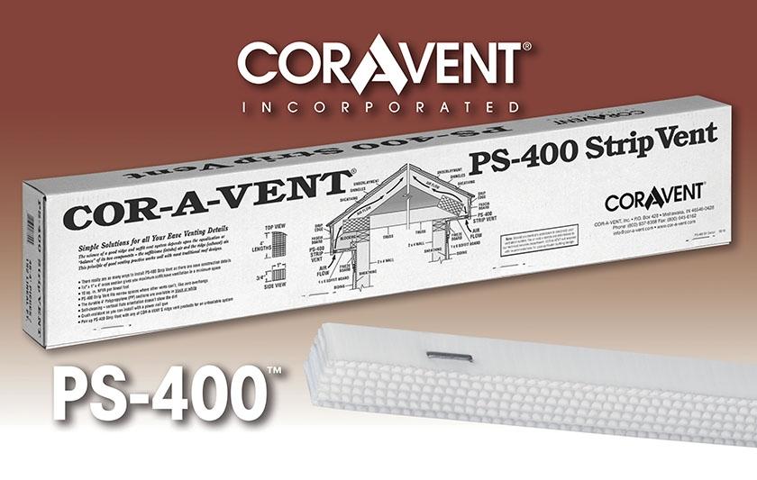 Cor-A-Vent PS-400 Strip Vent