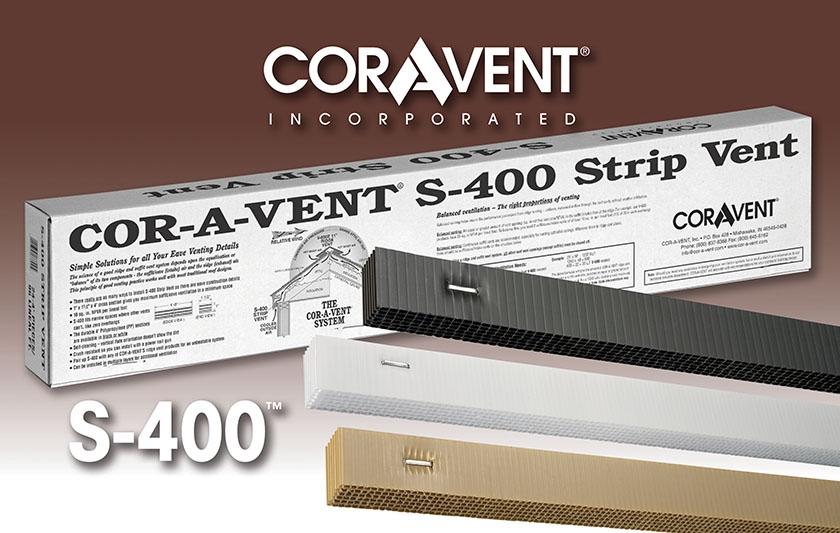 Cor-A-Vent S-400 Strip Vent
